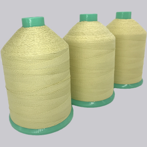Kevlar covered steel threads