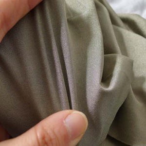 Silver coated spandex conductive/shielding fabric