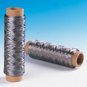 Thermal resistant FeCrAl fibers