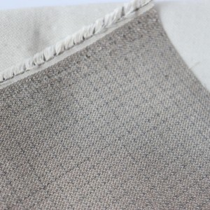 Double faced fire resistant conductive fabric