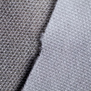 Double faced silver knitted conductive fabric