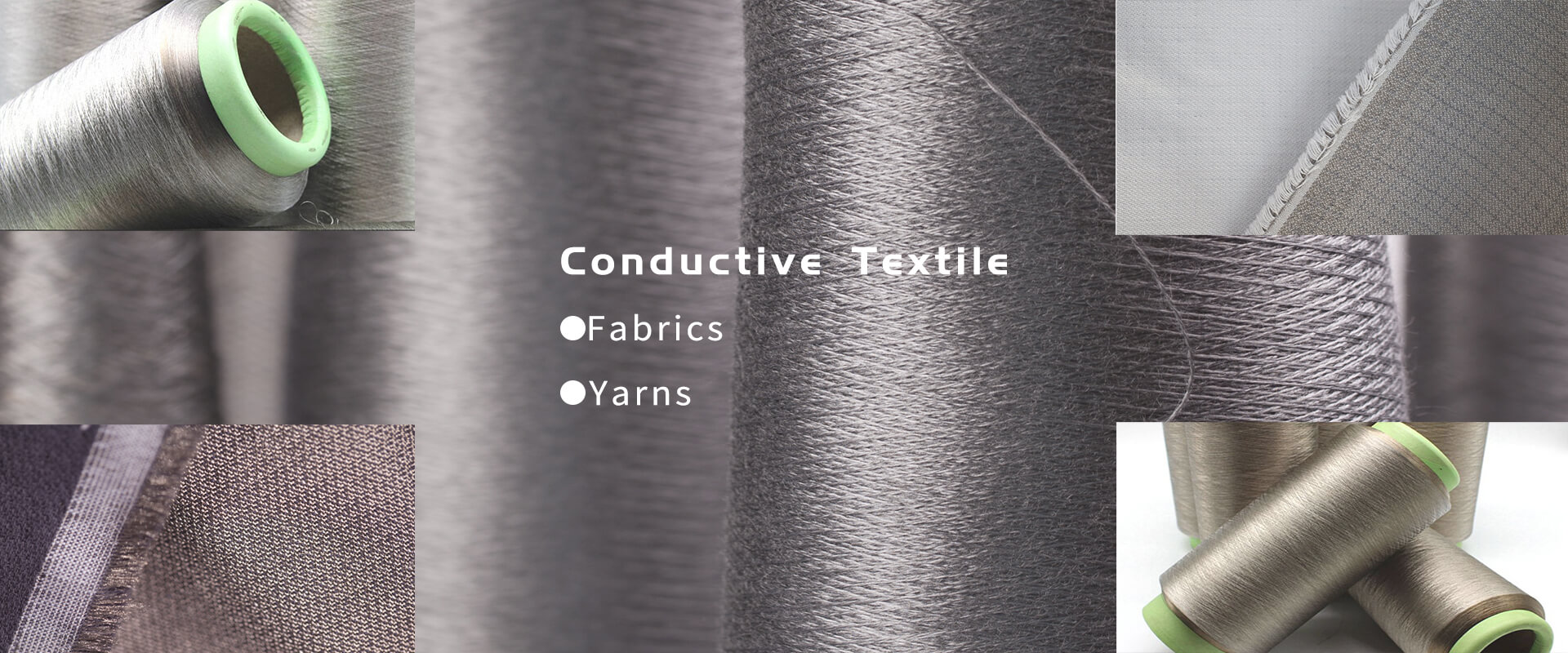 conductive fabric<br>shielding fabric<br>conductive yarn<br>conductive yarns