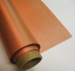 Polyester Taffeta Paint Copper Conductive Fabric