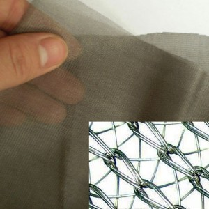 Silver coated conductive/shielding netting