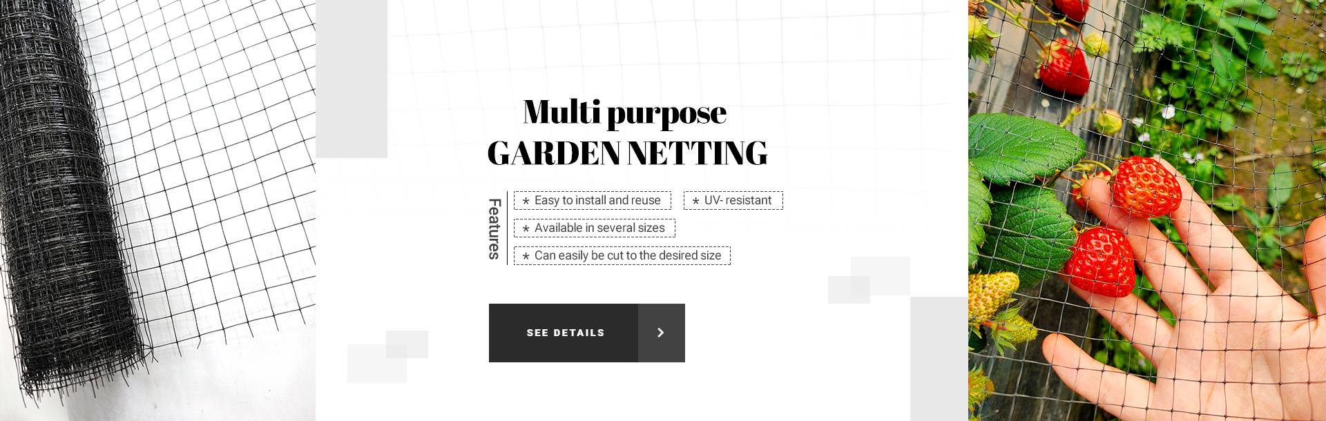 Multi purpose GARDEN NETTING