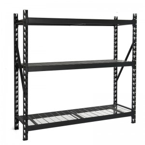 Heavy Duty Steel Wire Welded Storage Rack Black...