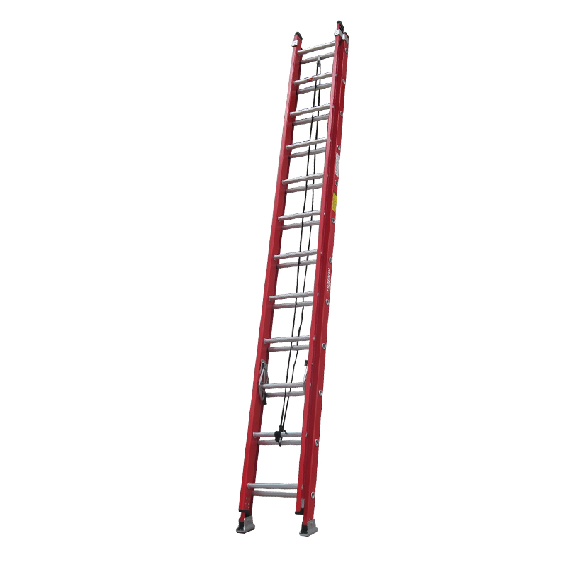 40 step fiberglass extension ladder FGEH40