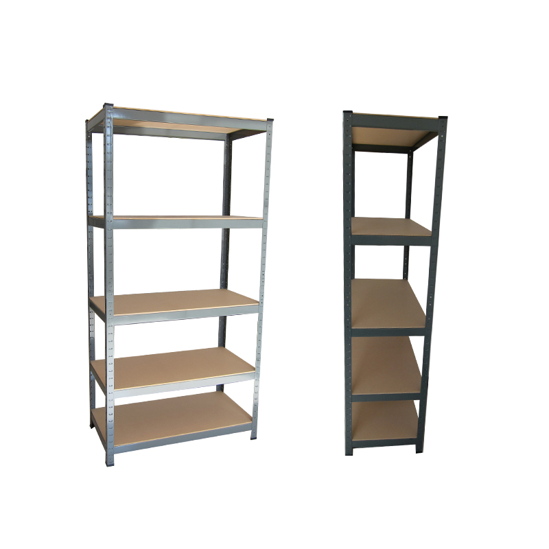 High Quality Non Dust Metal Shelving Unit 5 Shelf Racks Shelf Unit With Dural Metal