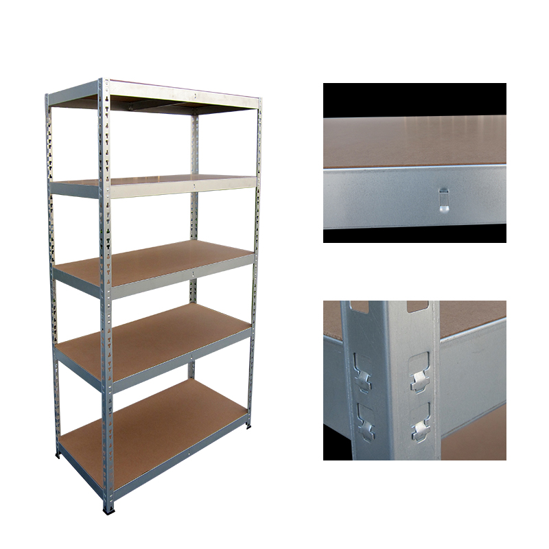 5 layers galvenizes boltless rivet steel charge shelf
