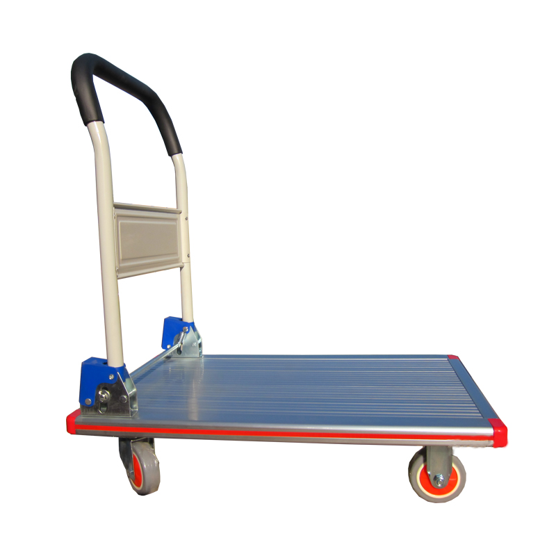 New design convenient cheap welding  Pallet Trolleys platform hand truck