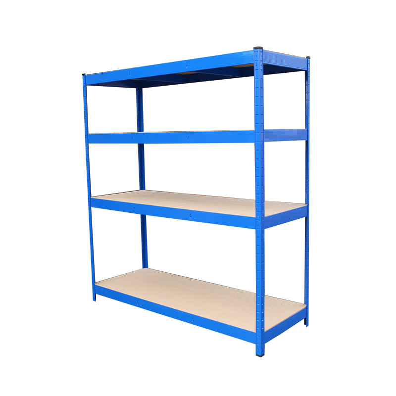 Warehouse Storage Steel 4 Tier Boltless Shelving