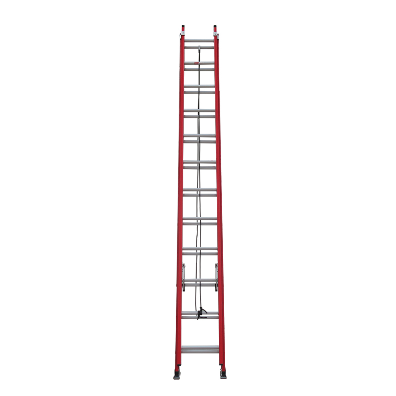 40 step fiberglass extension ladder FGEH40 Featured Image