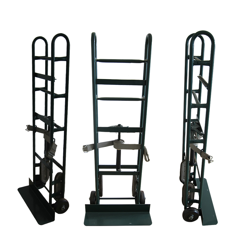 "6""  Solid wheels stair climber hand trolley truck"