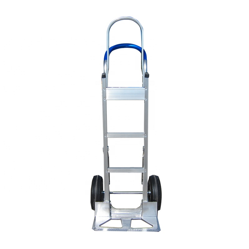 Aluminum Flow Back Handle Hand Truck Storage