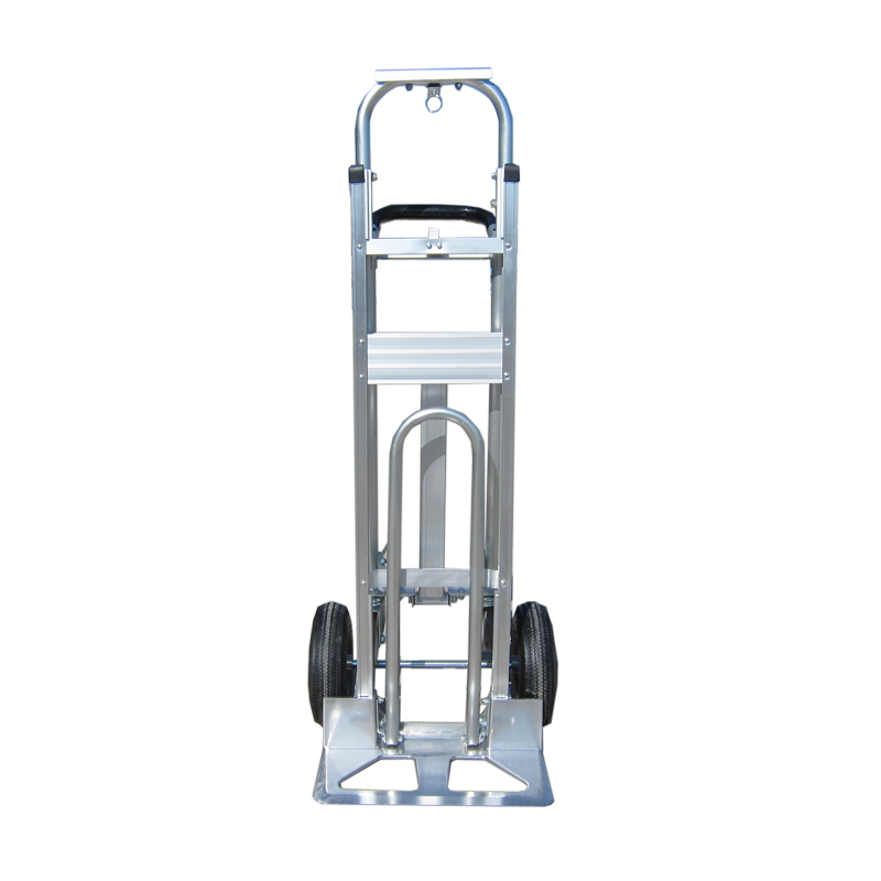 Durable metal folding aluminum push hand truck hand pull cart for sale