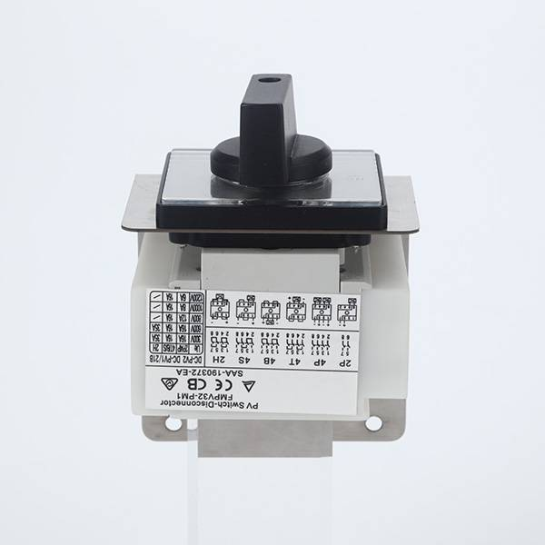 Panel Mounting PM1-2P Series DC Isolator Switch Featured Image