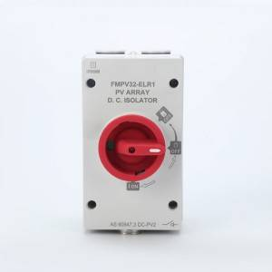 ELR1 Series Enclosed Version Lockable Rotary Handle DC Isolator Switch