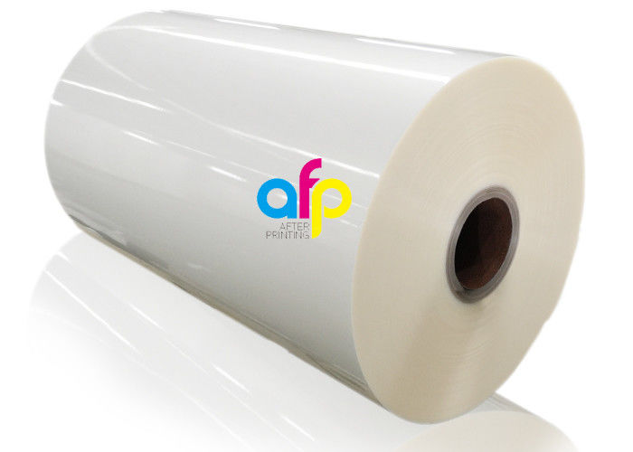 Hot BOPP / PET+EVA Lustre Finish Lamination Film Roll For Sweet Boxes