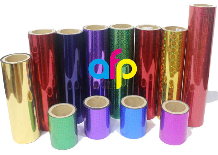 Factory wholesale Cast Stretch Wrap - 26 Mic Holographic Lamination Film , Packing Premium Cold Laminating Film –  After-printing