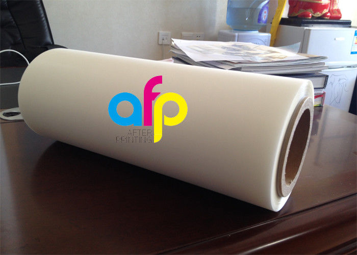 Glossy / Matte Roll Laminating Film For Laminating / Printing PET Material