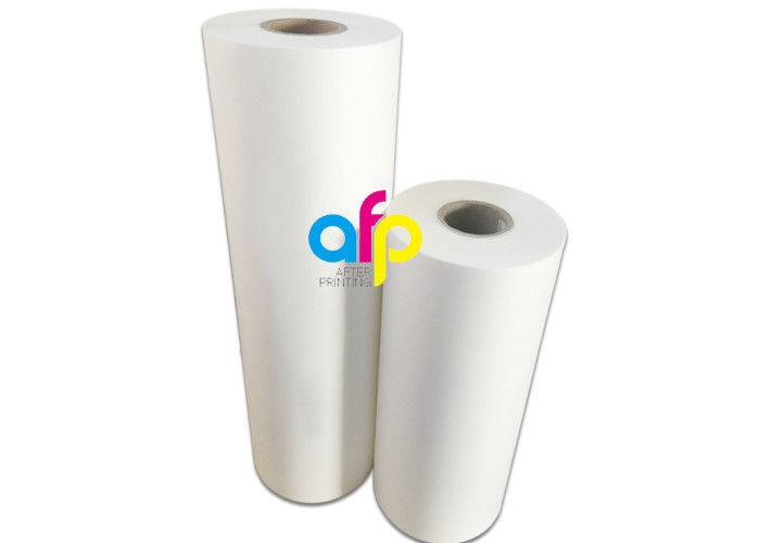 BOPP Matt Lamination Roll , 1 Inch / 3 Inch Roll Core PET Laminating Film
