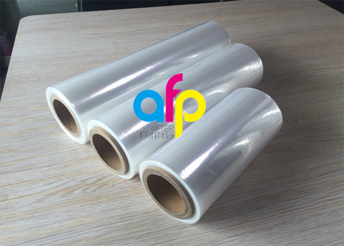 25 Mic / 90 Gauge Plastic Heat Shrink Wrap Film , Highly Clear Shrink Packaging Film