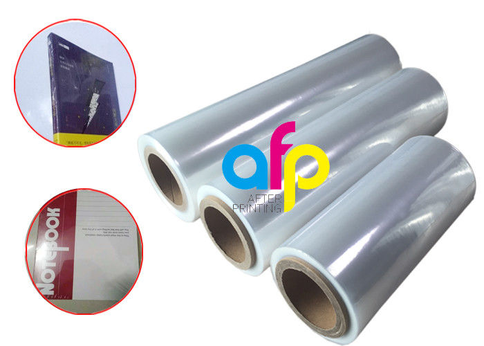Center Folded POF Heat Shrink Film Single Wound For Packaging 3 Inch Paper Core