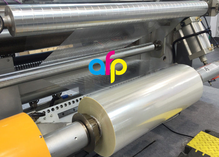 High Transparency Metallised Plastic Film , BOPET UV Resistant Laminating Film