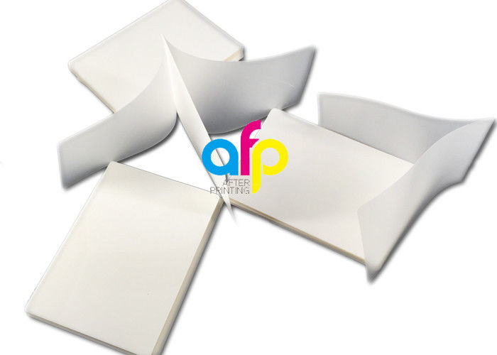 Different Sizes Pouch Laminating Film Sheets Moisture Proof BV Certification