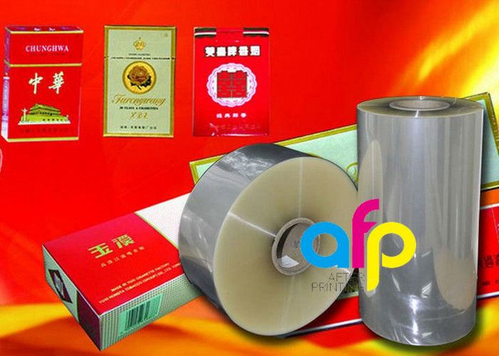 Multiple Extrusion Laminating BOPP Plastic Film For Cigarette Box Wrapping