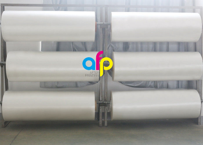 1 Inch / 3 Inch Core Clear Laminate Roll , Laminating Film Roll For Printing