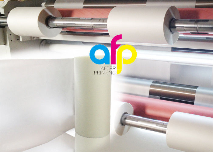 Scratch Resistant Polyester Laminating Film For Paper Lamination Soft Touch
