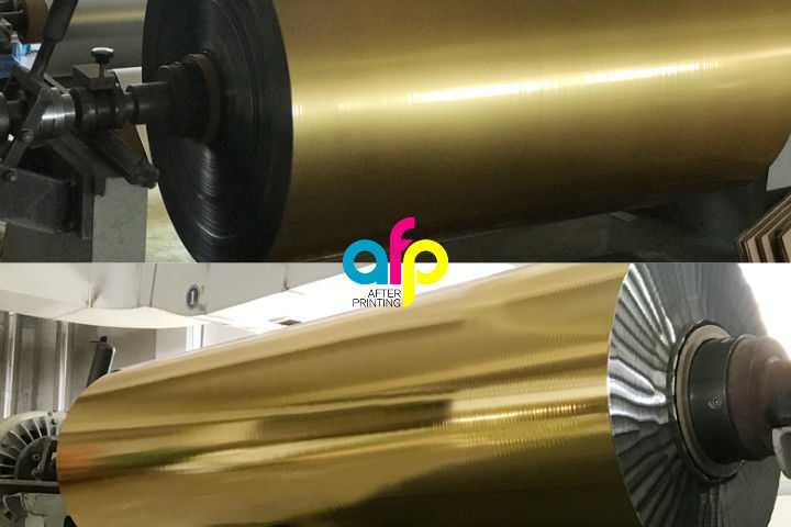 Professional Reliable Cold Stamping Foil Technology And Supplies For Printing Machines