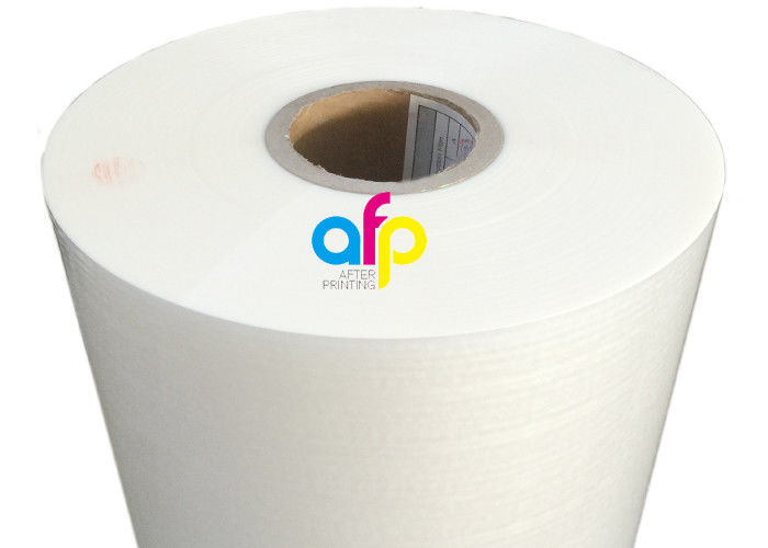 Matte Soft Silk Lamination Film , Clear Paperboard / Paper Lamination Film