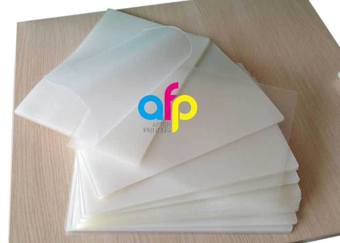 Polyester 7 Mil Laminating Pouches , Transparent Glossy / Matte Laminating Pouches