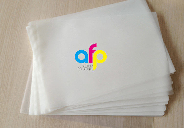 Matte Appearance Pet Polyester Pouch Lamination Film For Document Photo Menu Laminating
