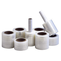 Premium Mini Bundling Stretch Film 350 % Elongation Stretch Wrap