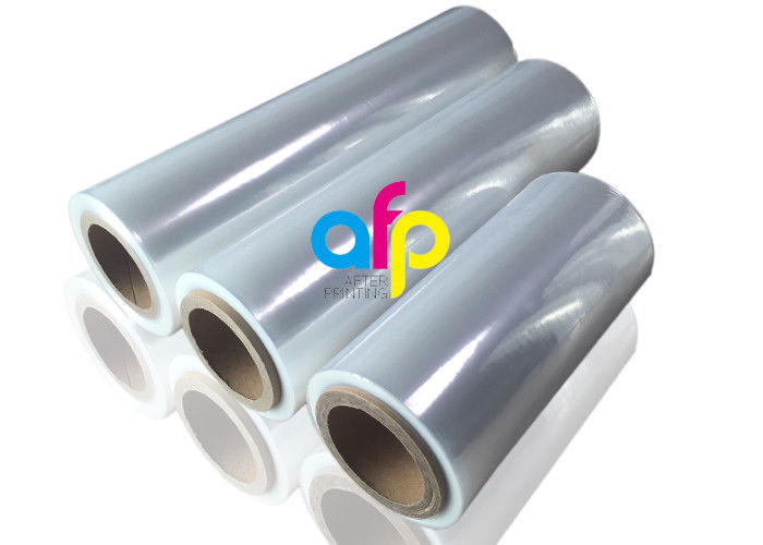 Single Wound Polyolefin Shrink Film For Cosmetics Package Moisture Proof