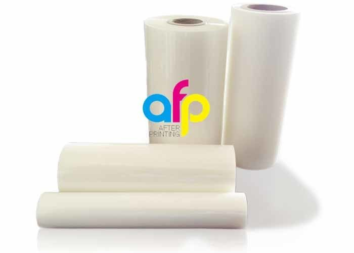 Transparent Thermal Lamination Film , Moisture Proof Plastic Laminating Roll Film