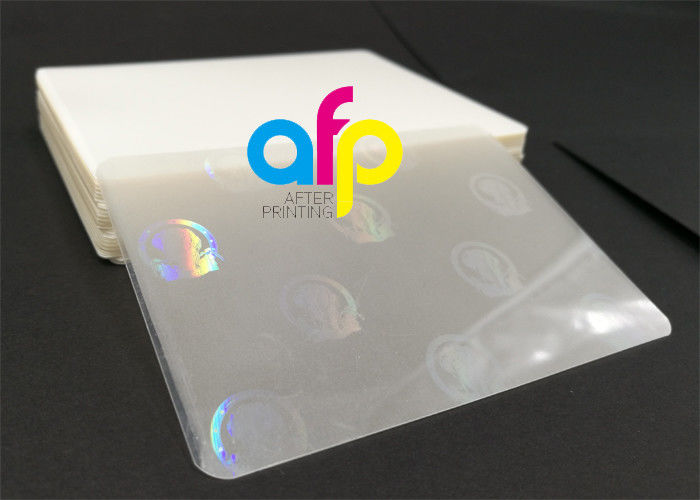 Hologram Laminating Pouches Matte Finish / Glossy