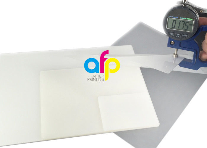 60~350 Micron Glossy Pet Polyester Pouch Laminating Film For Document Photo Menu Lamination
