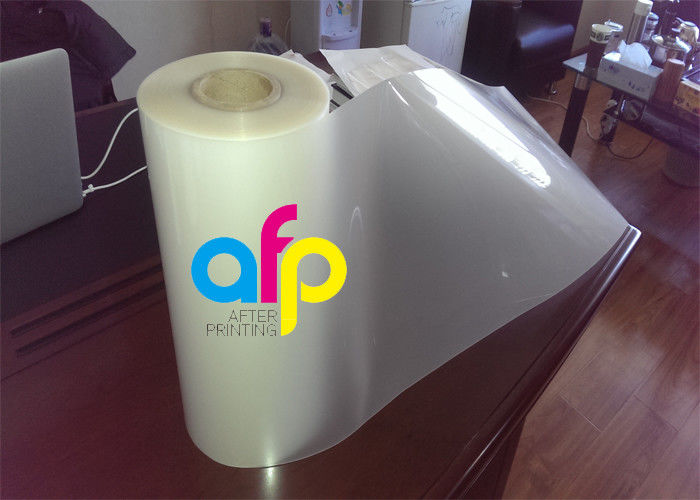 Matte Thermal Lamination Film , Multiple Extrusion Transparent Roll Laminating Film