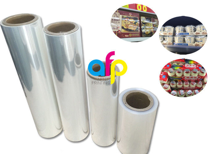 Cookie Packing Polyolefin Shrink Film High Transparency Fine Luster