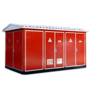 YB-12/0.4(F·R)Outdoor prefabricated substation (European style)