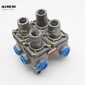 Truck trail air brake valve four circuit protection valve wabco 9347022100 for benz daf man