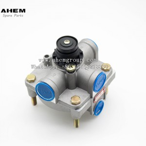 Truck trailer relay valve wabco 9730110000 for mercedes benz