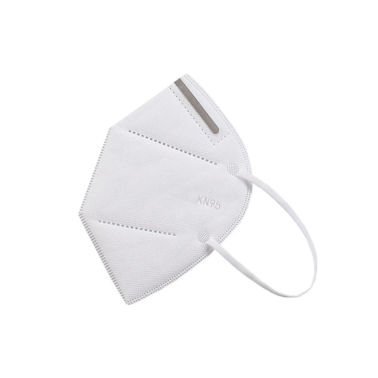 Disposable KN95 mask folding type 3 ply face protection mask easy to carry and store