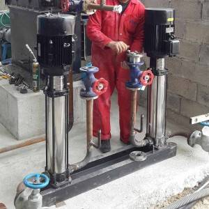 Reliable Supplier Hot Water Boilers - Boiler Water Pump – Double Rings