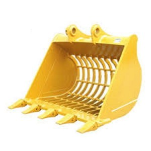 Skeleton bucket SK200 G.E.T spare parts bucket for Kobelco excavator