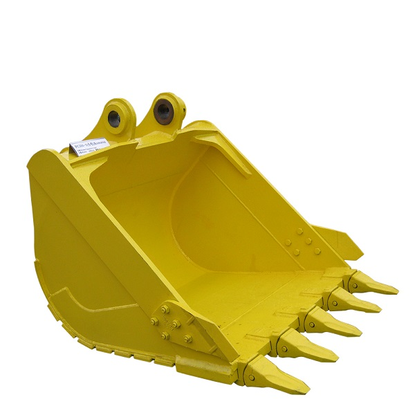PC300 excavator buckets with stardard rock type